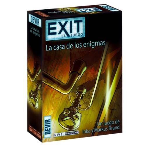 Exit La Casa de los Enigmas juego de Escape Room