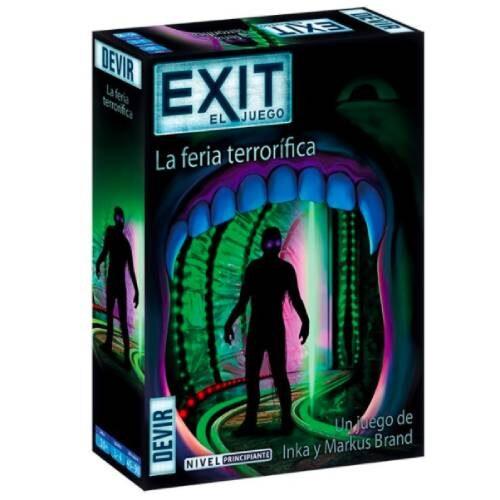 Exit La Feria Terrorífica juego de Escape Room