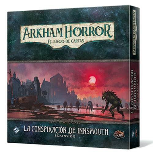 Comprar La Conspiración de Innsmouth Arkham Horror - El juego de cartas edita por FF