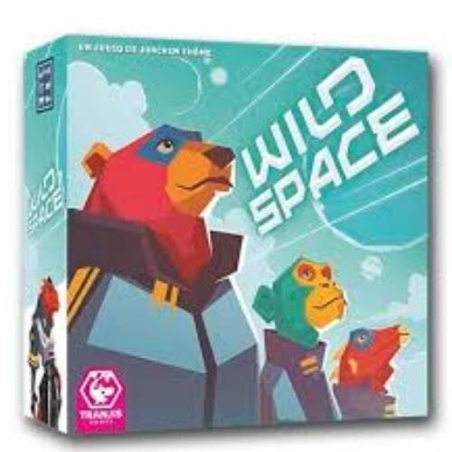 Wild Space juego de mesa en Castellano editado por Tranji games