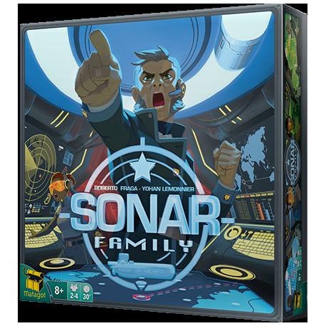 Sonar Family juego de tablero editado en castellano por Matagot