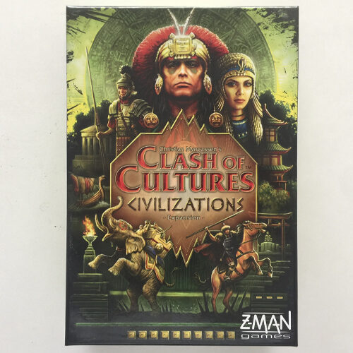 Clash of Cultures Civilizations el juego de mesa editado en inglés por Z-Man Games. Comprar Clash of Cultures Civilizations en EGD Games