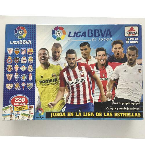 El Juego de la Liga 15/16 editado en castellano por Borras. Comprar El Juego de la Liga 15/16 en EGD Games
