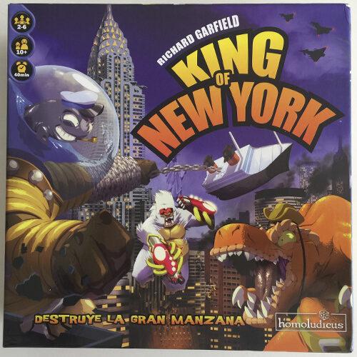 King of New York el juego de mesa editado en castellano por Homoludicus. Comprar King of New York en EGD Games