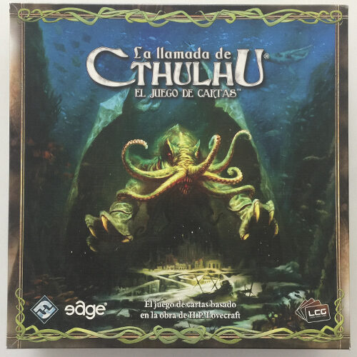 La Llamada de Cthulhu el juego de mesa editado en castellano por Edge Entertainment. Comprar La Llamada de Cthulu en EGD Games
