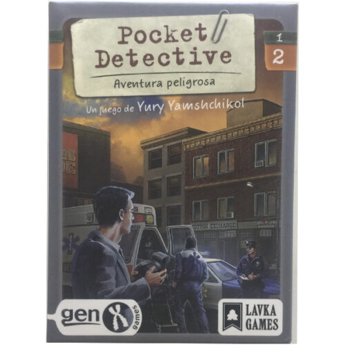 Pocket Detective Aventura Peligrosa editado en castellano por Ludonova. Comprar Pocket Detective Aventura Peligrosa en EGD Games