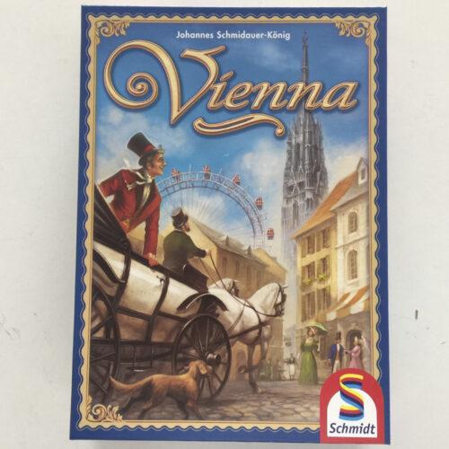 Vienna el juego de mesa editado en inglés por Schmidt. Comprar Vienna en EGD Games