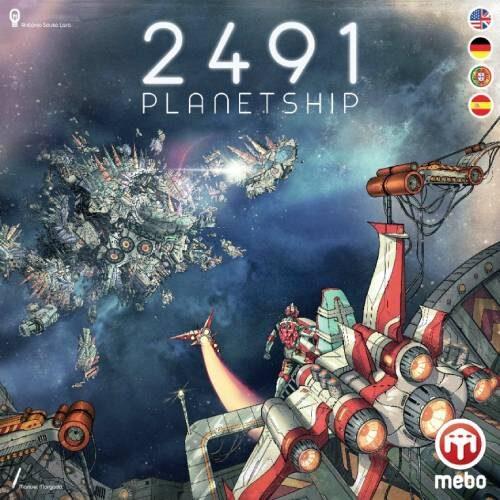 Comprar 2491 Nave planetaria juego de tablero editado en español por Mebo