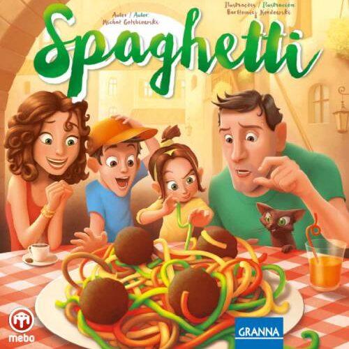 Spaguetti el juego de tablero editado por mebo