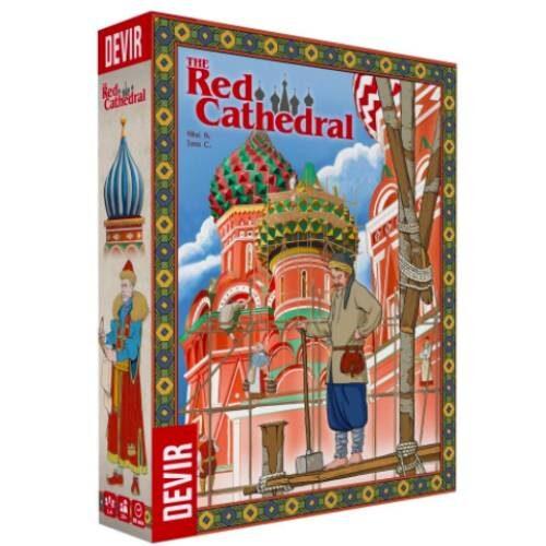 The Red Cathedral Multilingüe juego editado por Devir por autores españoles