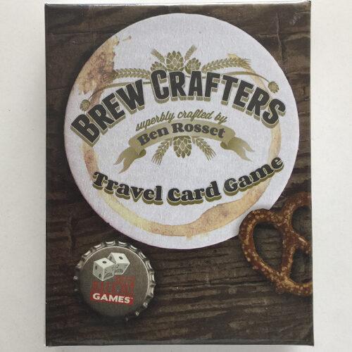 Brew Crafters Travel Card Games el juego de cartas editado en inglés. Comprar Brew Crafters en EGD Games