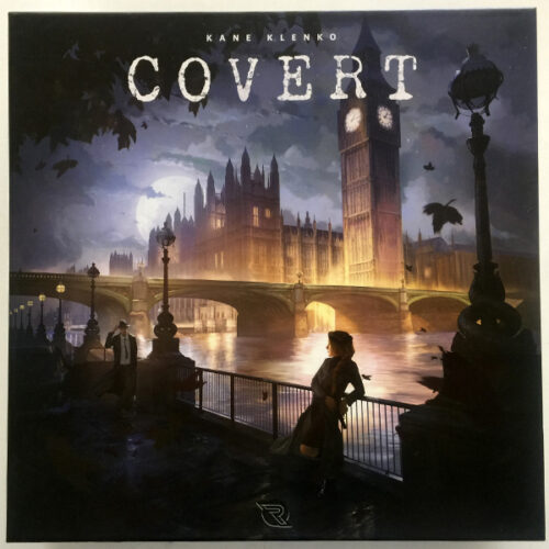 Covert el juego de mesa editado en castellano por Renegade Games. Comprar Covert en EGD Games