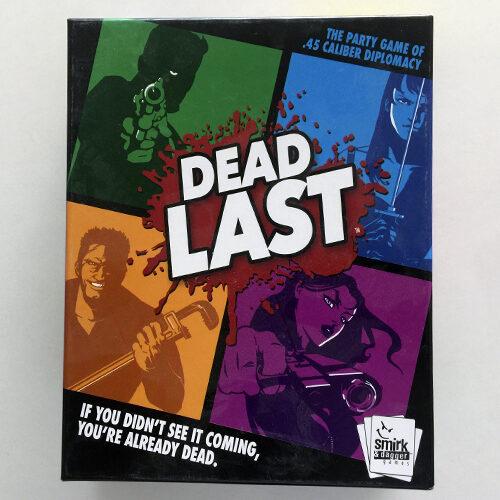 Last Dead el juego de mesa editado en inglés. Comprar Dead Last en EGD Games