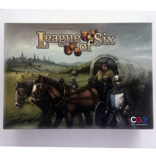 League of Six el juego de mesa editado en inglés por CGE. Comprar League of Six en EGD Games