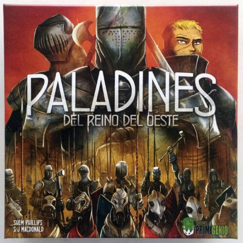 Paladines del Reino del Oeste el juego de mesa editado en castellano por Ediciones Primigenio. Comprar Paladines del Reino del Oeste en EGD Games.