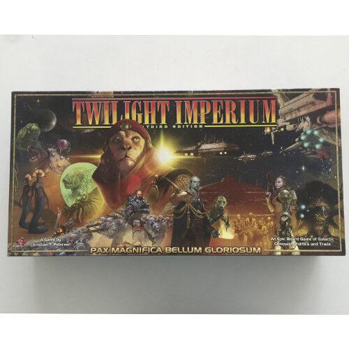 Twilight Imperium Third Edition el juego de mesa editado en castellano por Fantasy Flight Games. Comprar Twilight Imperium Third Edition en EGD Games