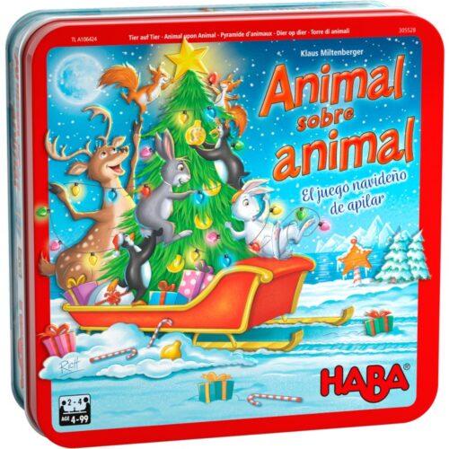 Comprar Animal sobre Animal caja en lata version navidad