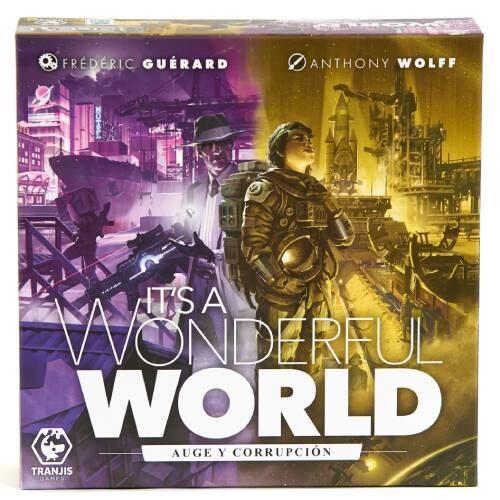 It's a Wonderful World: Auge y Corrupción editado por tranji games