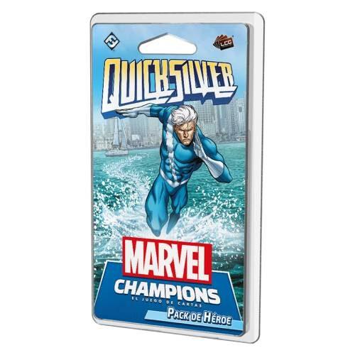 Quicksilver el juego de cartas de marvel Champions en castellano