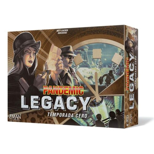 Pandemic Legacy Temporada Cero el juego de mesa editado en castellano por Asmodee. Comprar Pandemic Legacy Temporada Cero en EGD Games