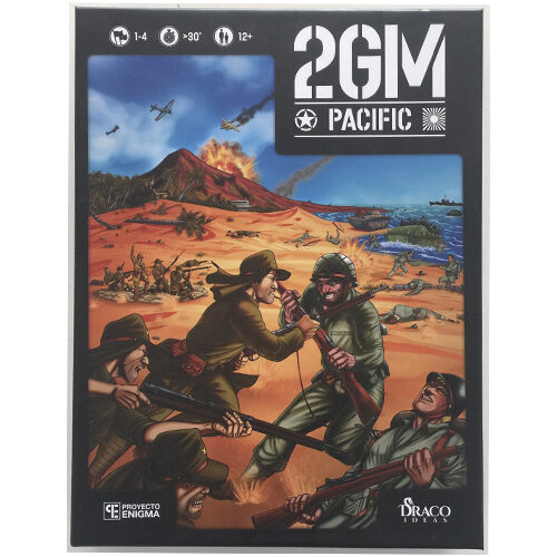 Comprar 2GM Pacific el juego editado en castellano por Draco Ideas. Comprar 2GM Pacific en EGD Games