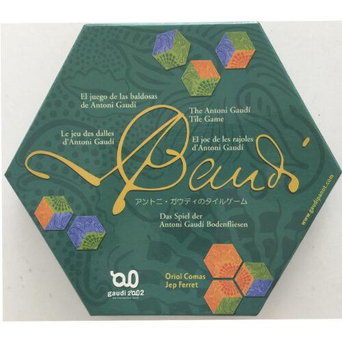 Gaudí el juego de mesa editado en castellano . Comprar El Juego de las Baldosas de Gaudí en EGD Games