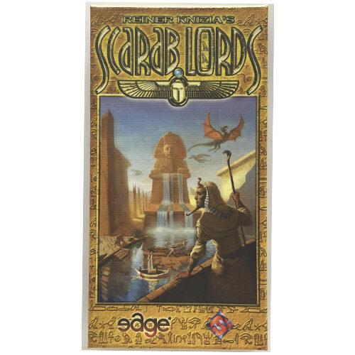 Scarab Lords el juego de mesa editado en castellano por Edge Entertainemnt. Comprar Scarab Lords en EGD Games