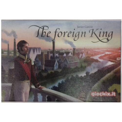 The Foreign King el juego de mesa editado en castellano por Giochix. Comprar The Foreign King en EGD Games