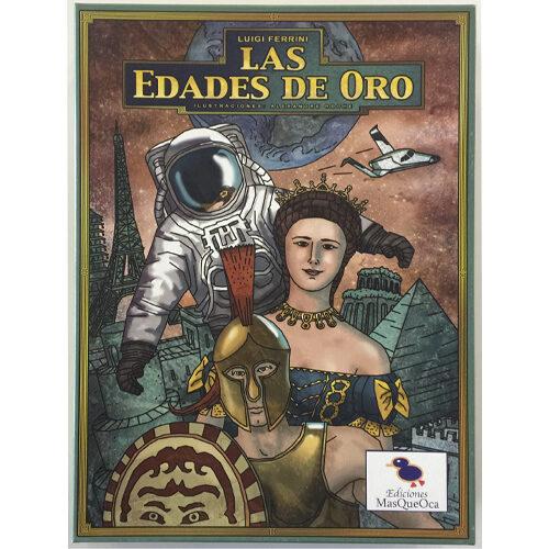 Las Edades de Oro el juego de mesa editado por Mas Que Oca. Comprar Las Edades de Oro en EGD Games