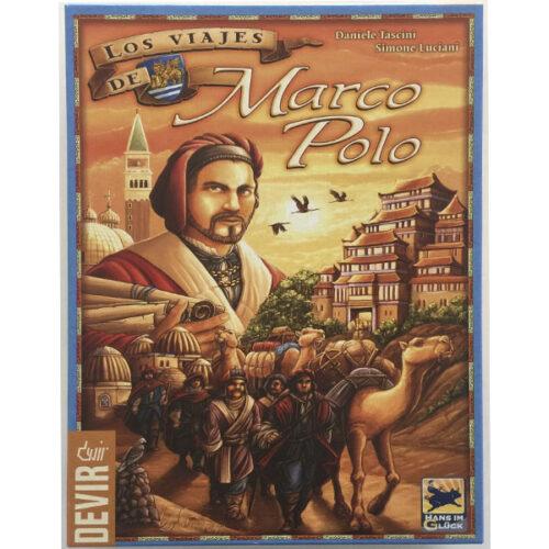 Los Viajes de Marco Polo el juego de mesa editado en castellano por Devir. Comprar Los Viajes de Marco Polo en EGD Games