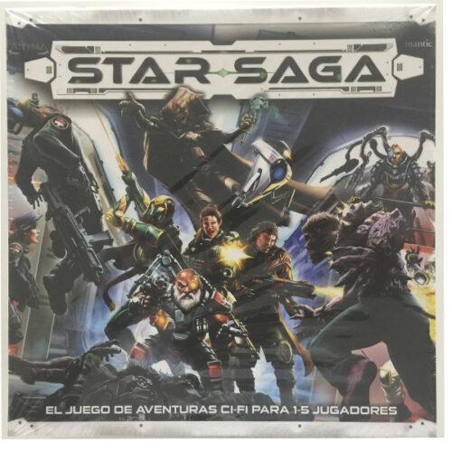 Star Saga el juego de mesa editado en castellano por Mantic Games. Comprar Star Saga en EGD Games
