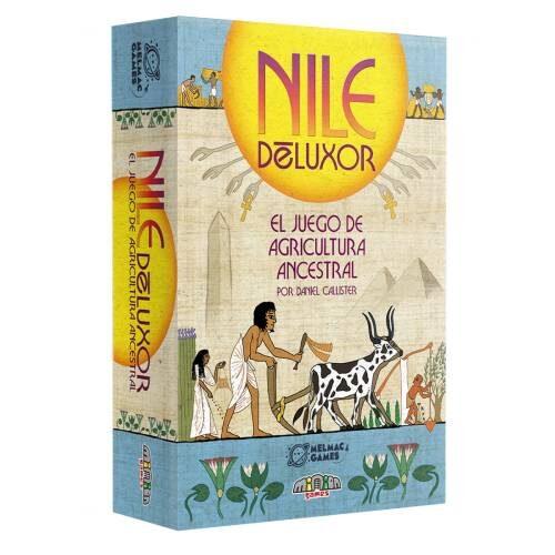 Comprar Nile Deluxor juegos de cartas editado por Melmac Games