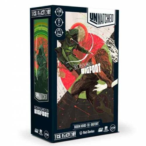 Comprar Unmatched Robin Hood VS Bigfoot Español juego de miniaturas