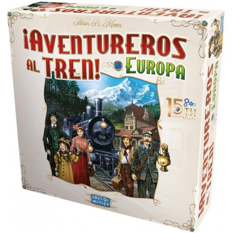 Comprar Aventureros Al Tren! Europa 15 Aniversario En Stock