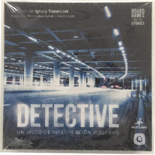 Detective el juego de mesa editado en castellano por Maldito Games. Comprar Detective en EGD Games