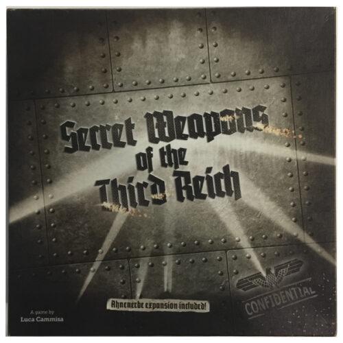 Secret Weapons of the Third Reich el juego de mesa editado por 4 Dados. Comprar Secret Weapons of the Third Reich en EGD Games