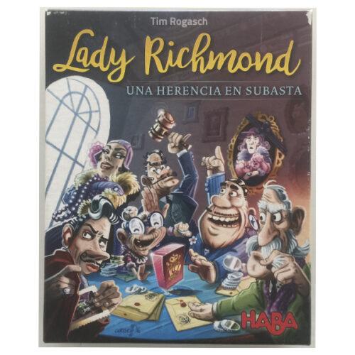 Lady Richmond Una Herencia en Subasta el juego de mesa ditado en castellano por Haba. Comprar Lady Richmond Una Herencia en Subasta en EGD Games.