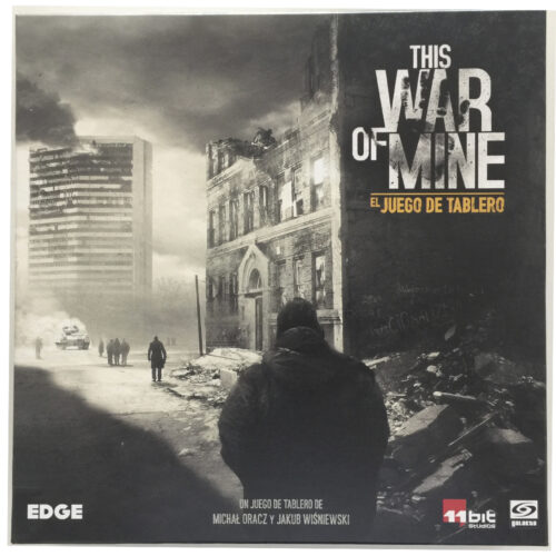 This War of Mine el juego de mesa editado en castellano por Edge Entertainemnt. Comprar This War of Mine en EGD Games