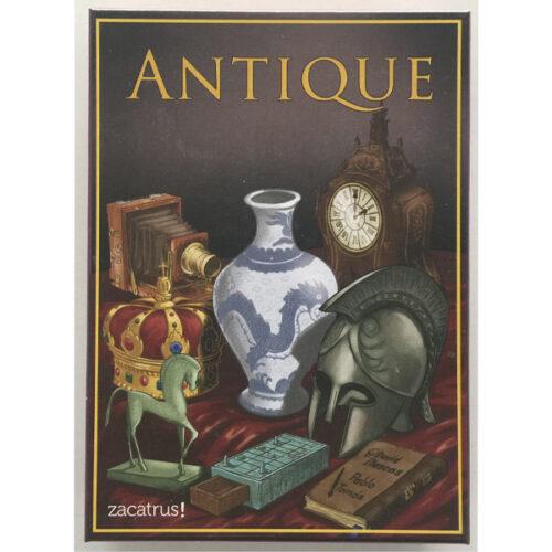 Antique el juego de mesa editado en castellano por Zacatrus. Comprar Antique en EGD Games