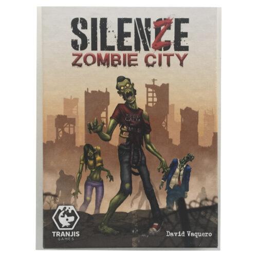 Silenze Zombie City el juego de mesa editado en castellano por Tranjis Games. Comprar Silenze Zombie City en EGD Games