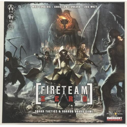 Fireteam Zero el juego de mesa editado por Whatz Up Games al mejor precio en EGD Games.