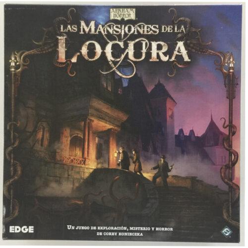 Las Mansiones de la Locura el juego de mesa editado en castellano por Edge. Comprar Las Mansiones de la Locura en EGD Games