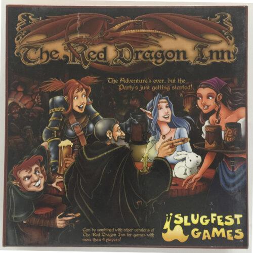 The Red Dragon Inn el juego de mesa editado por Slugfest Games. Comprar The Red Dragon Inn en EGD Games