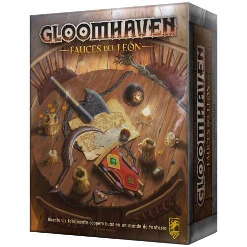 Gloomhaven Fauces del león juego independiente español asmodee