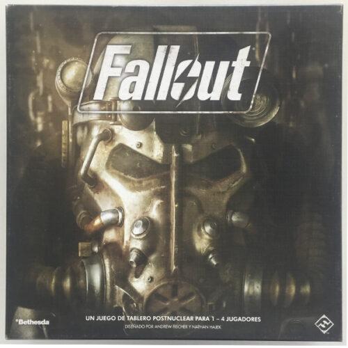 Fallout The Boardgame el juego de mesa editado en castellano por Fantasy Flight Games. Comprar Fallout en EGD Games