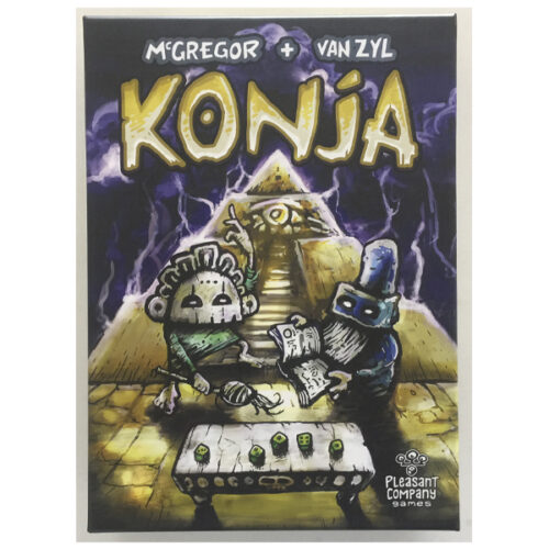 Konja el juego de mesa editado en inglés por Pleasant Company Games. Comprar Pleasant Company Games en EGD Games