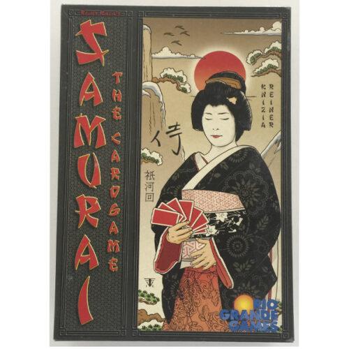 Samurai The Card Game el juego de mesa editado por Rio Grande Games. Comprar Samurai The Card Game en EGD Games