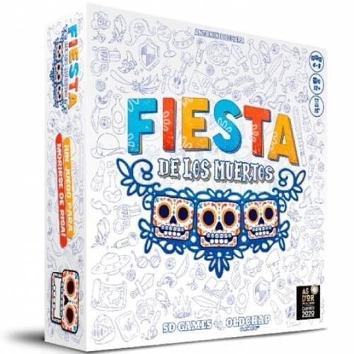 Fiesta De Los Muertos juego de mesa editado por SD games