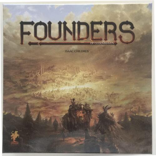 Founders of Gloomhaven el juego de mesa editado en inglés por Cephalifair Games. Comprar Founders of Gloomhaven en EGD games