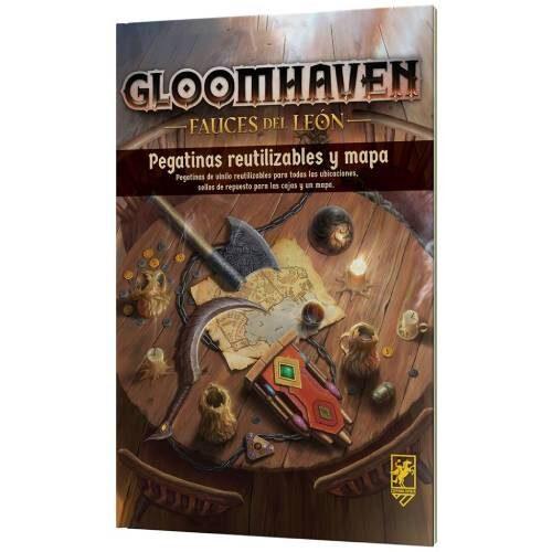 Comprar Gloomhaven Fauces del león nuevas pegatinas